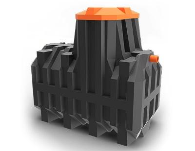 Септик «Ergobox». Очистные сооружения